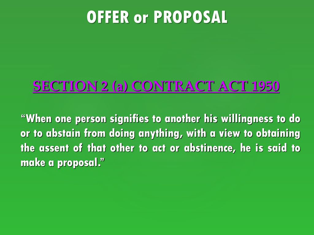 Contract Law Chapter 2 Contracts Act Ppt Download
