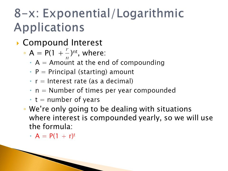 Chapter 8x Applications Of Exponential And Logarithmic Functions. 8x Exponentiallogarithmic Applications. Worksheet. Worksheet On Exponential And Logarithmic Functions At Clickcart.co