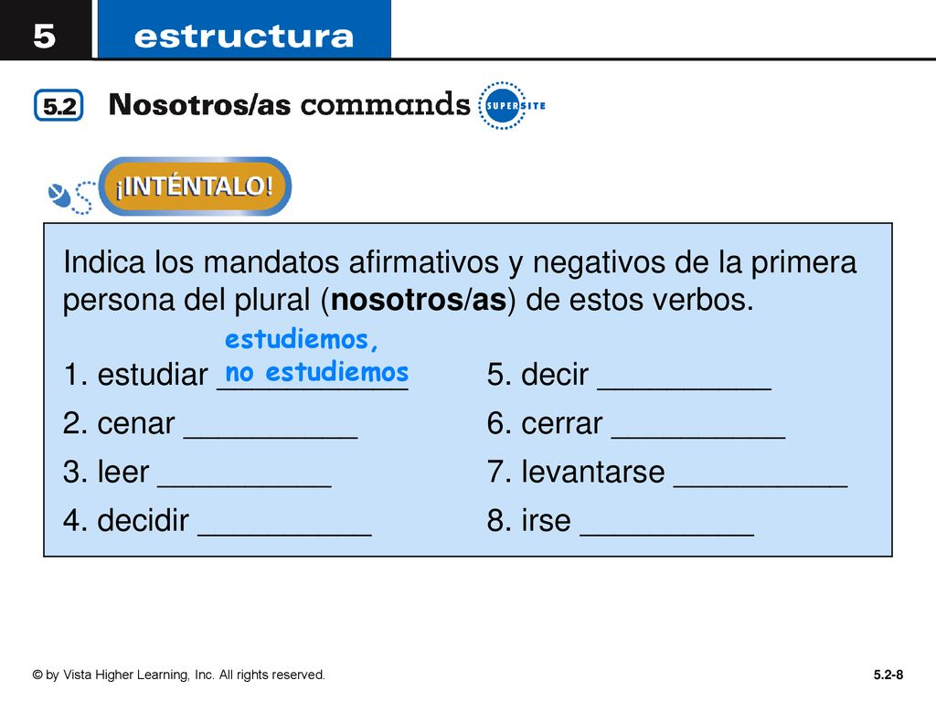You Have Already Learned Familiar Tú Commands And Formal
