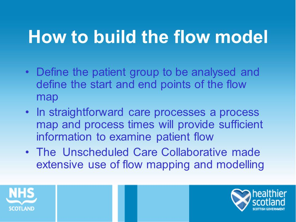 How to build the flow model