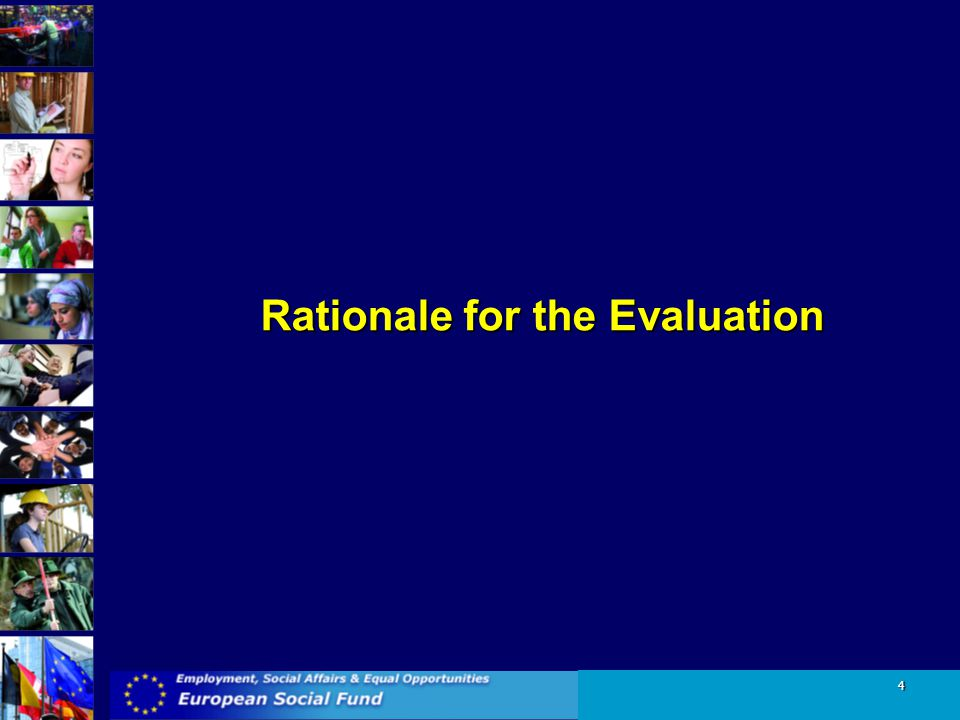 Rationale for the Evaluation