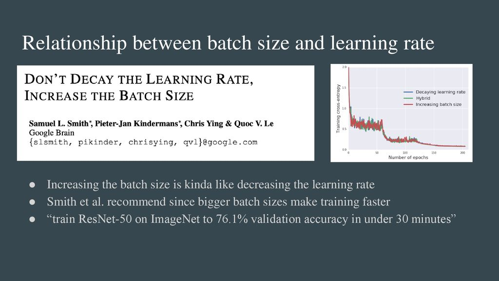 Hyperparameters and learning to learn 04/01/19 - ppt download