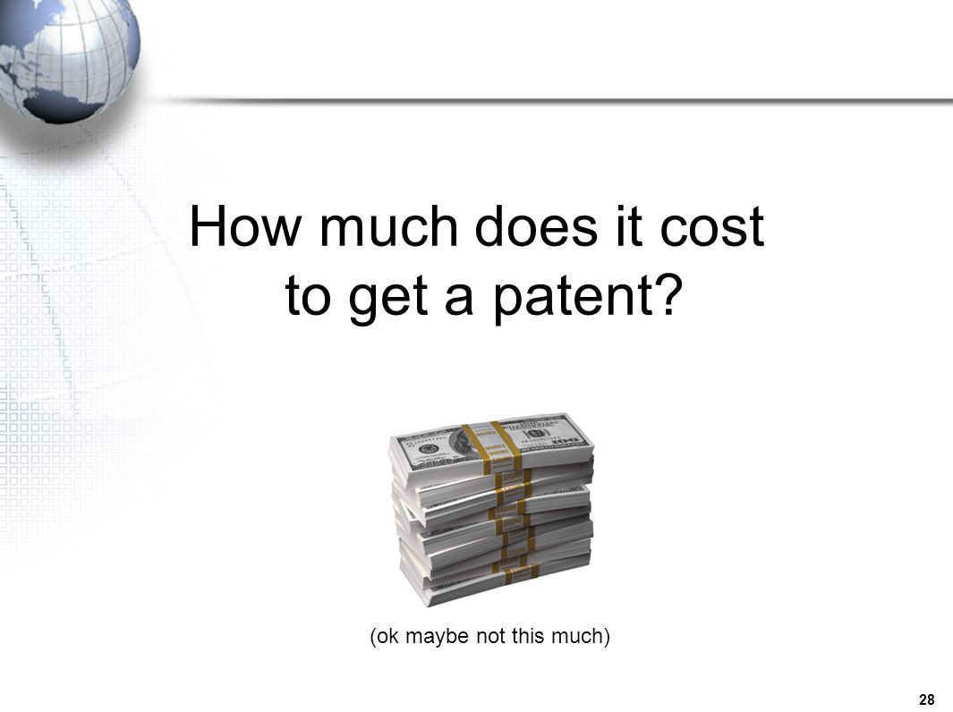 how much does it cost to get your hair styled united states patents an overview ppt 4268