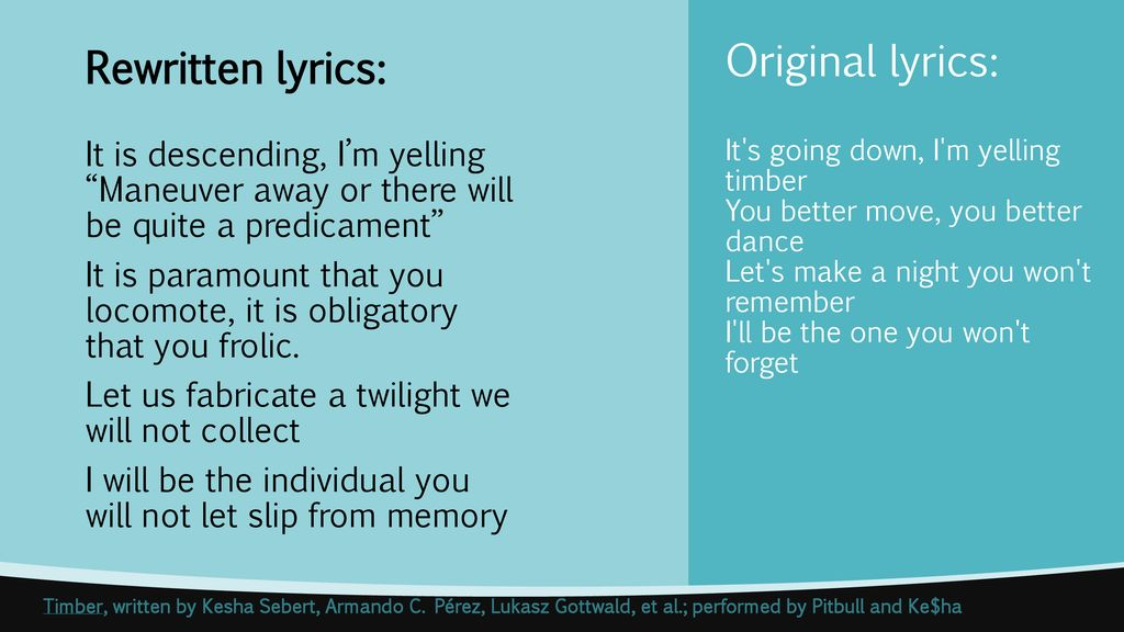 Etymology – NAME THAT TUNE! - ppt download