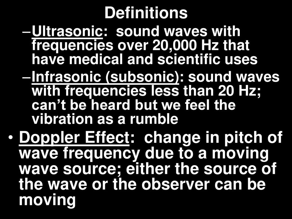 Chapter 12, Section 2 Properties of Sound - ppt download