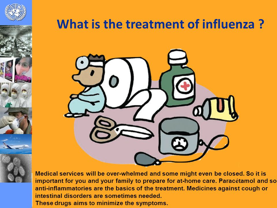 What is the treatment of influenza