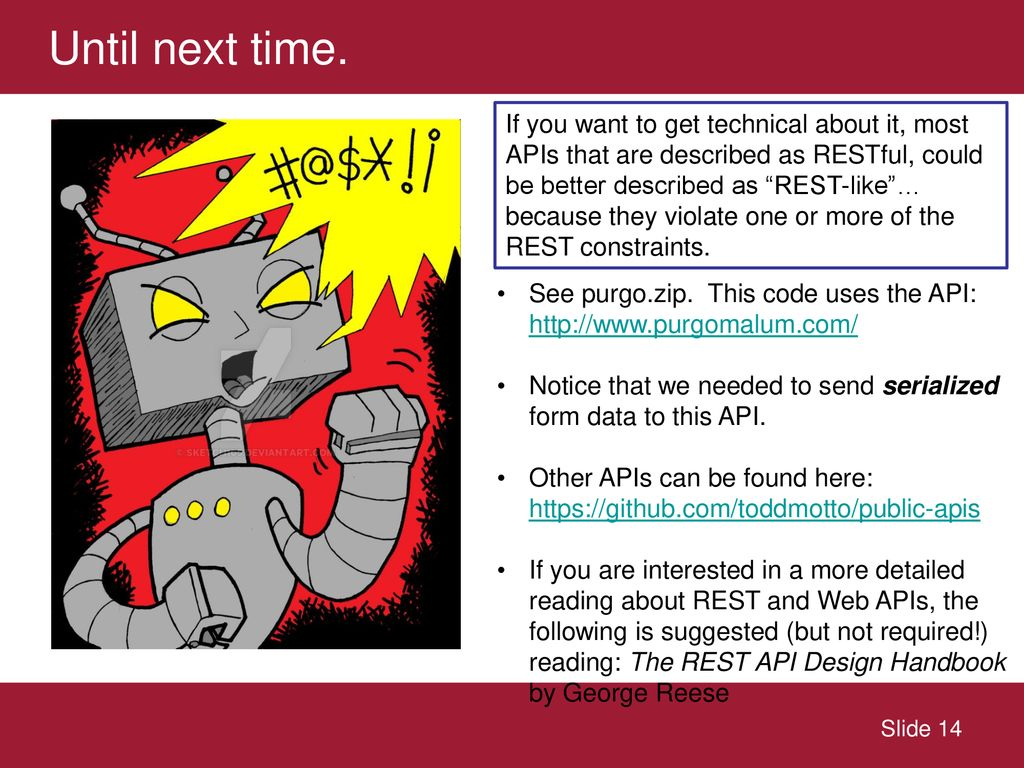 A gentle introduction to RESTful APIs - ppt download