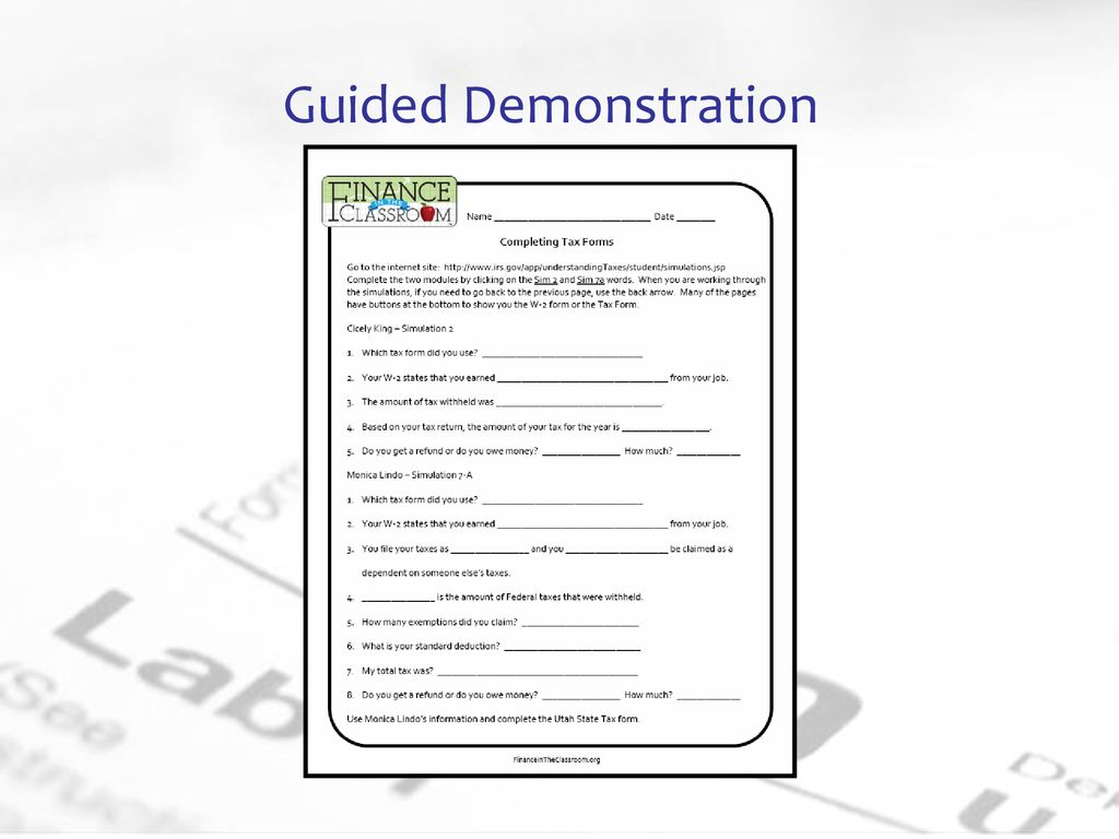 Tax Forms & Deductions  - ppt download