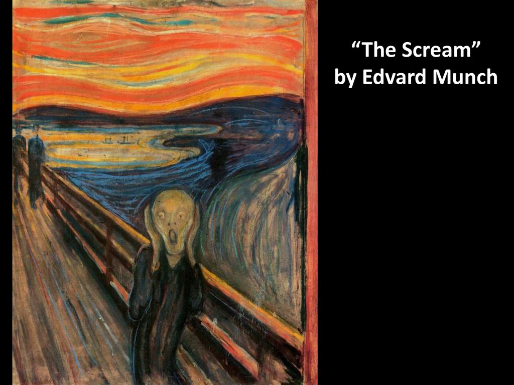 The Scream Edvard Munch Ppt Download