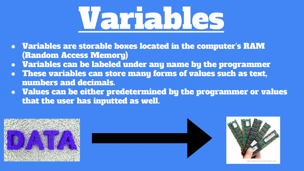 Input, Variables, and Mathematical Expressions - ppt download