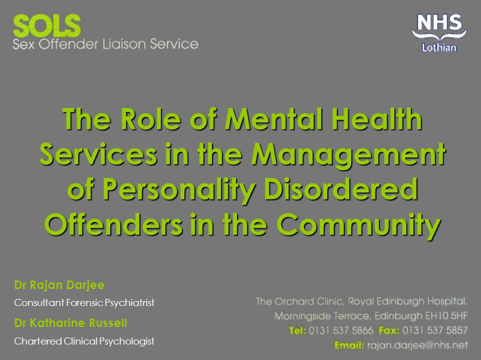 personality and mental health pdf