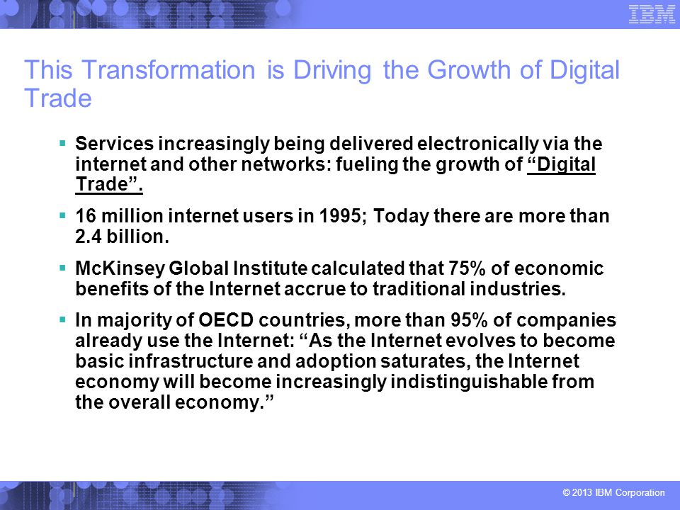 This Transformation is Driving the Growth of Digital Trade