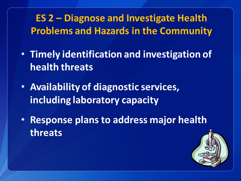 Timely identification and investigation of health threats