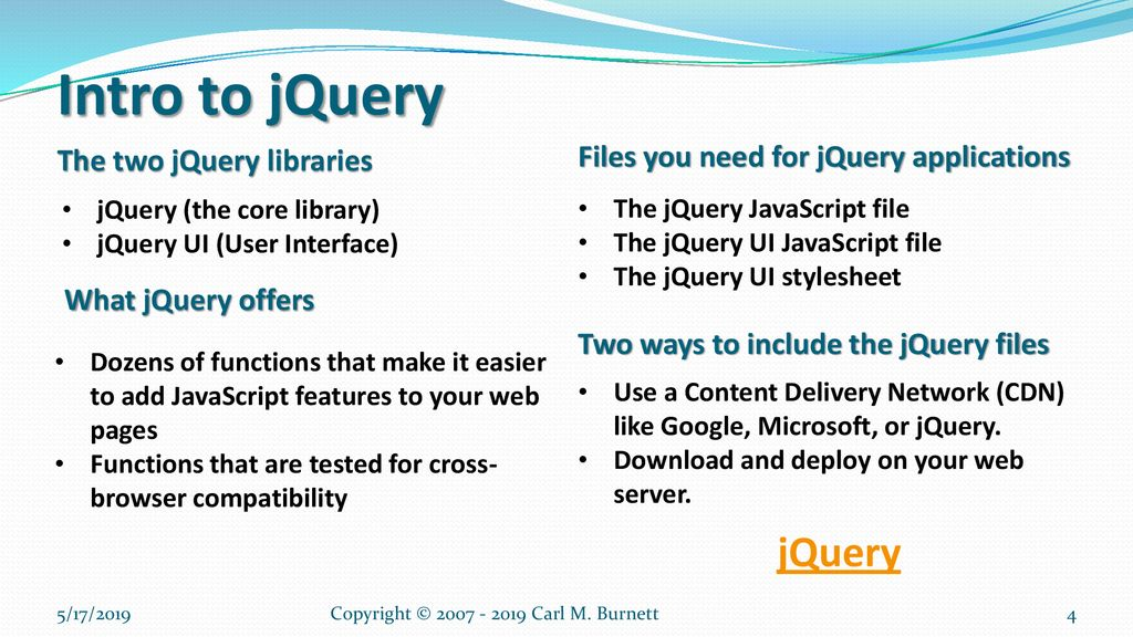 Chapter 8 – Fast Start with jQuery - ppt download