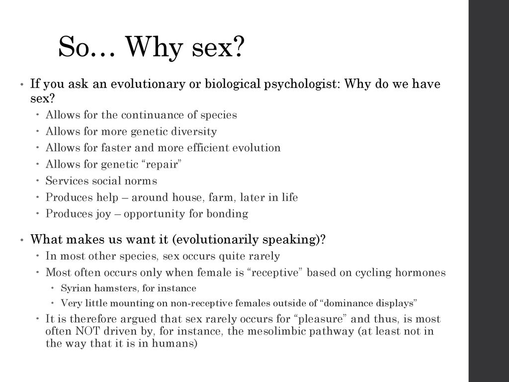 SEX… Psych ppt download