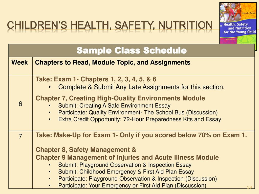 Children's Health, Safety, Nutrition - ppt download