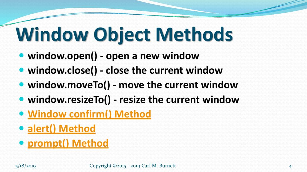 Chapter 4 - JavaScript Events, Objects, & Functions - ppt download