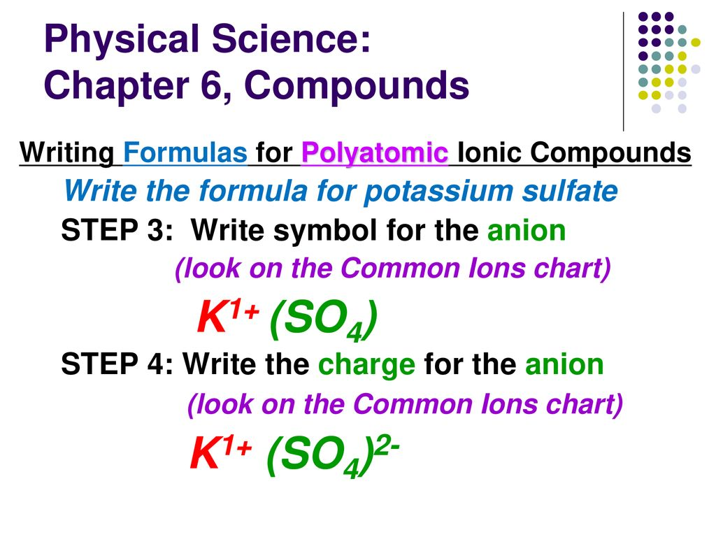 Chapter 6: Compounds Ionic and Covalent Compounds - ppt download