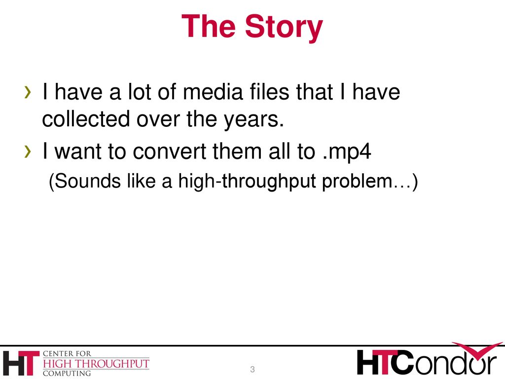 Overview Development of an advanced submit file - ppt download