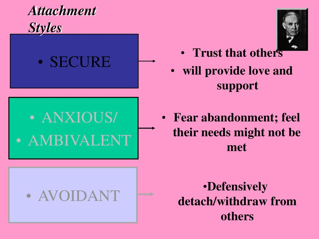Attachment secure avoidant What Is