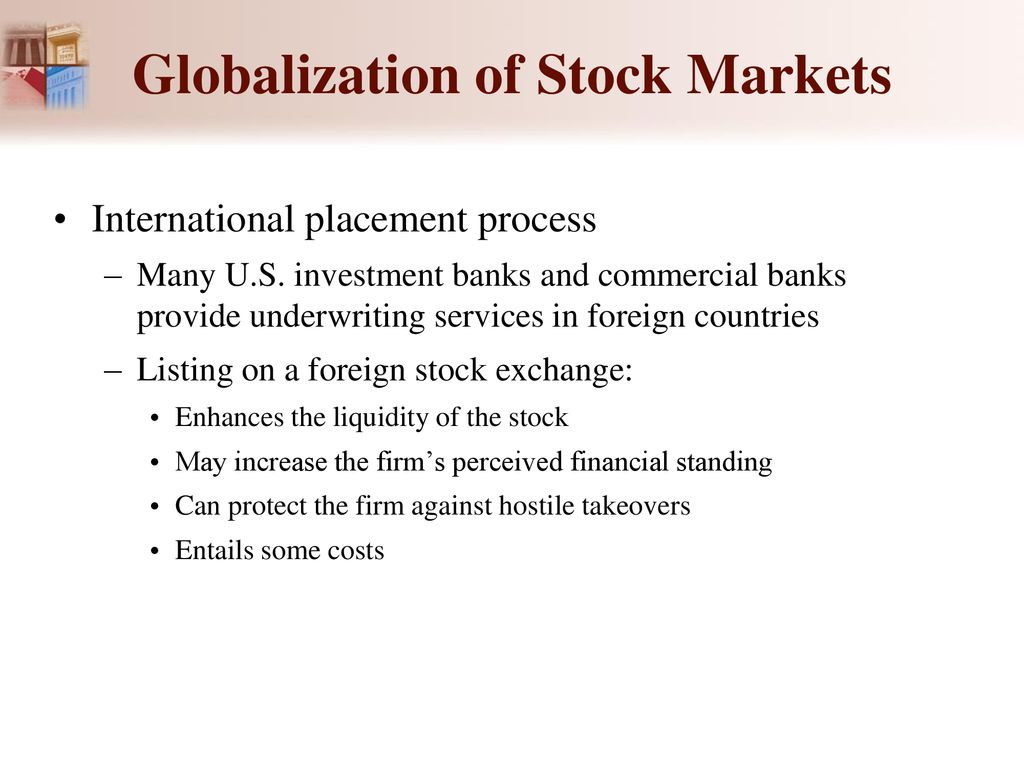 motives for investing in foreign markets