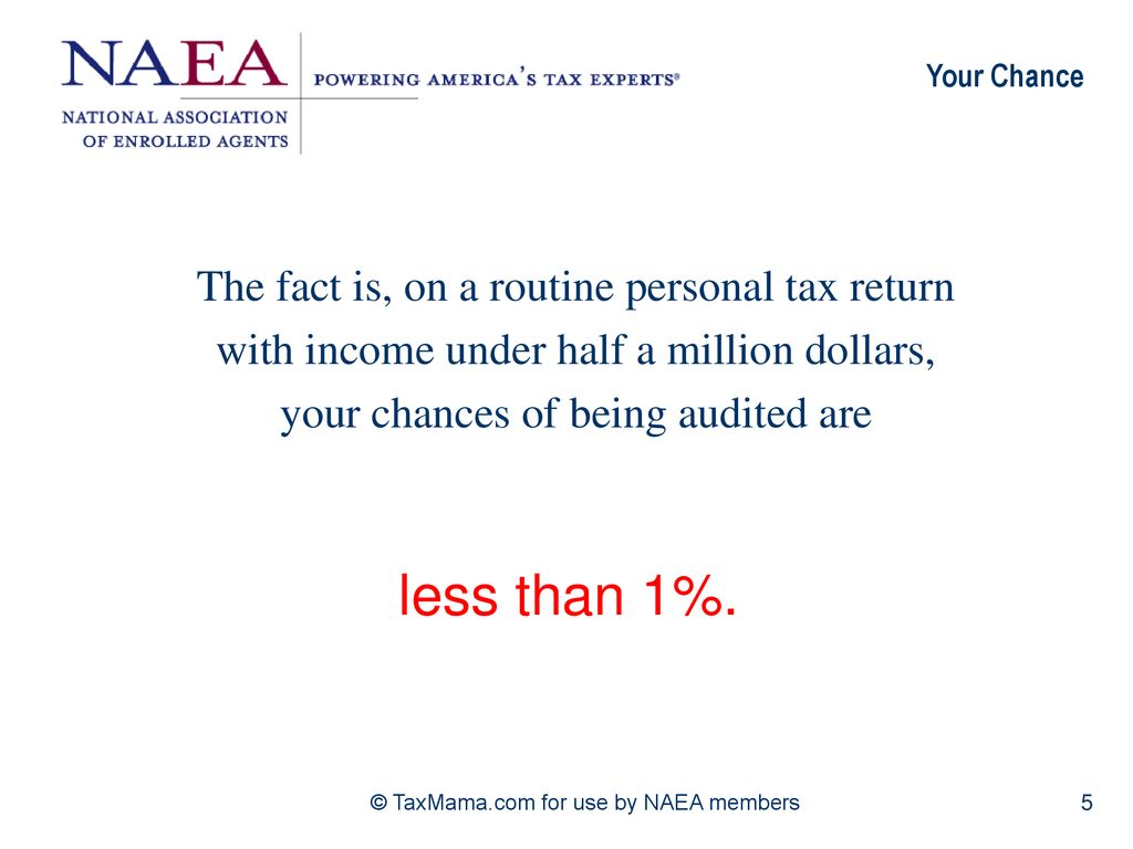 5 Secrets to Help you Avoid an IRS Audit - ppt download