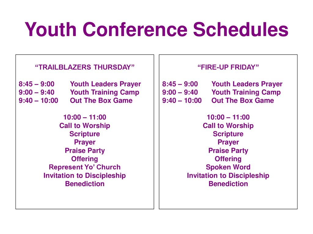 Youth Conference June 13 – 15, ppt download