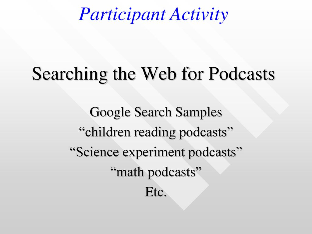 Podcasts & RSS Feeds in the Classroom - ppt download
