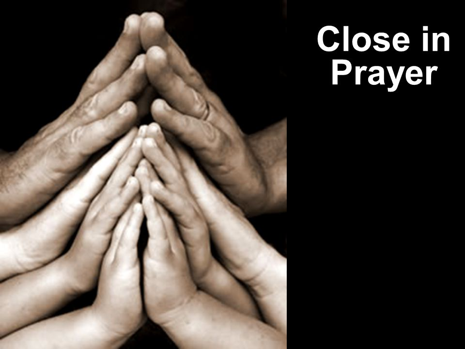 Close in Prayer