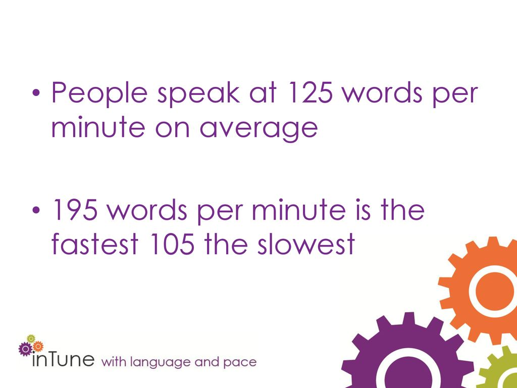 Language and Pace  - ppt download