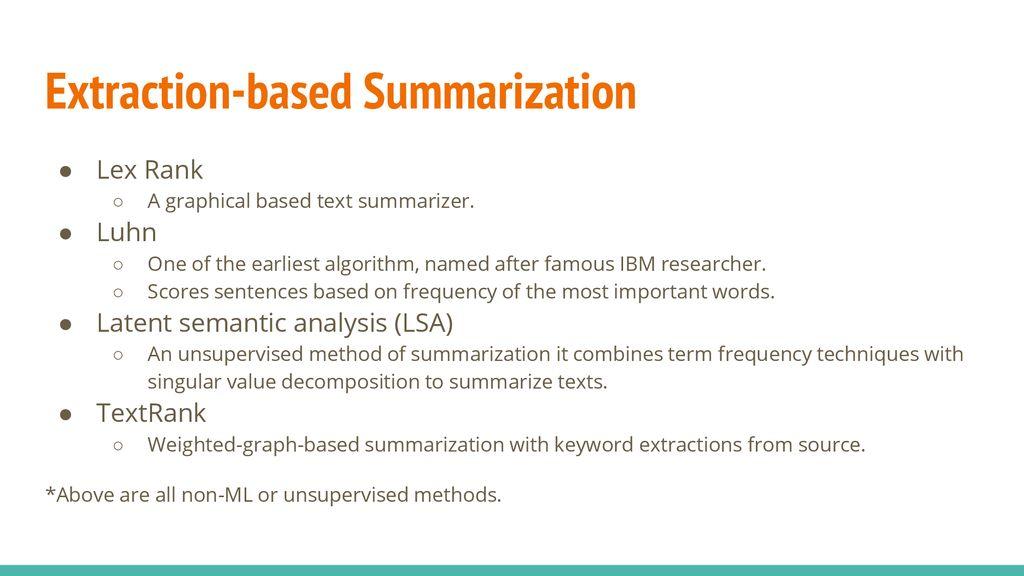 Text Summarization Samuel Sunarjo  - ppt download