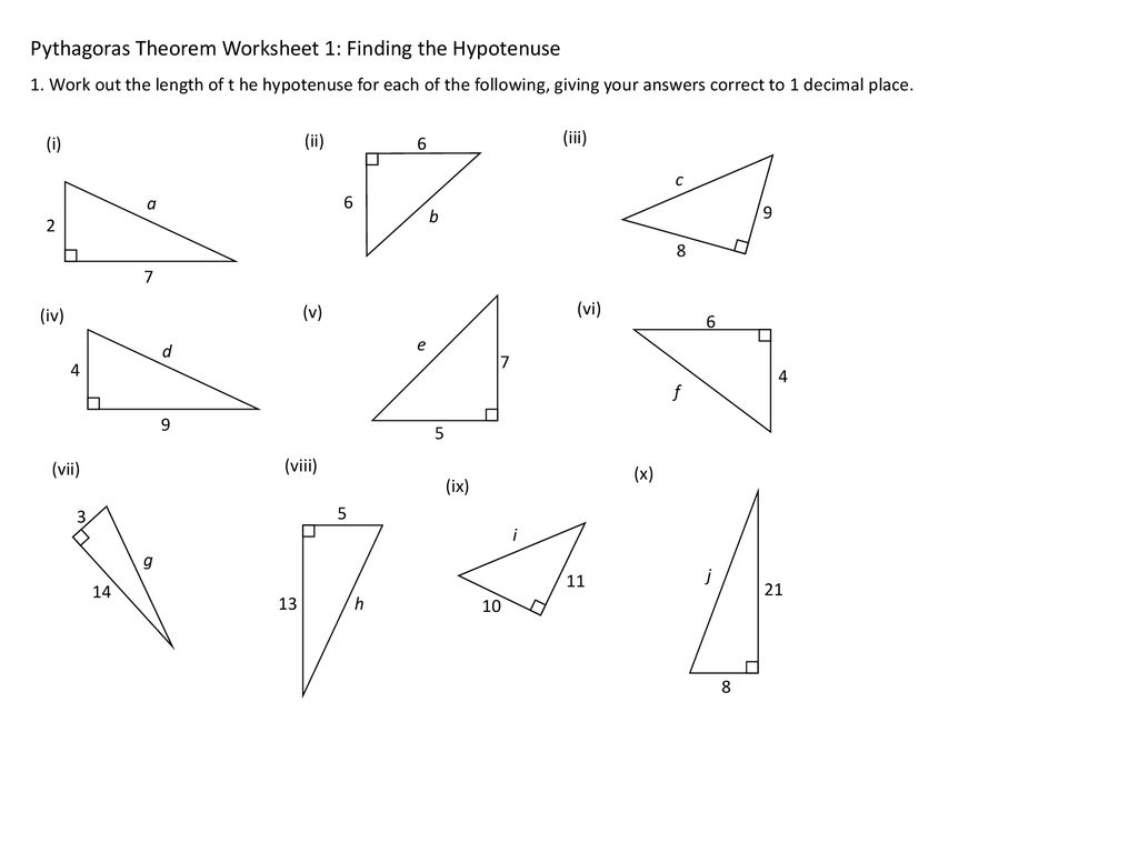 Pythagoras S Theorem Tuesday 21 May Ppt Download