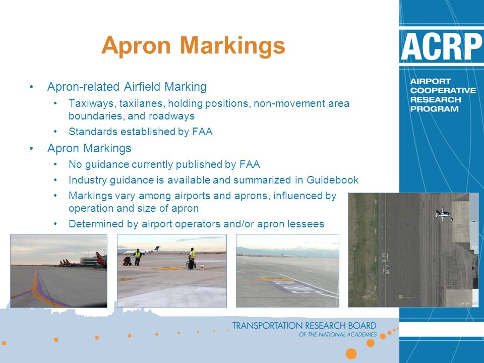 ACRP 07-09: Apron Planning and Design Guidebook - ppt video online