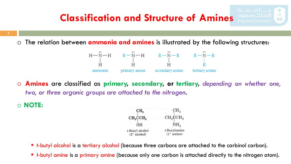 Amine Chemistry Structure