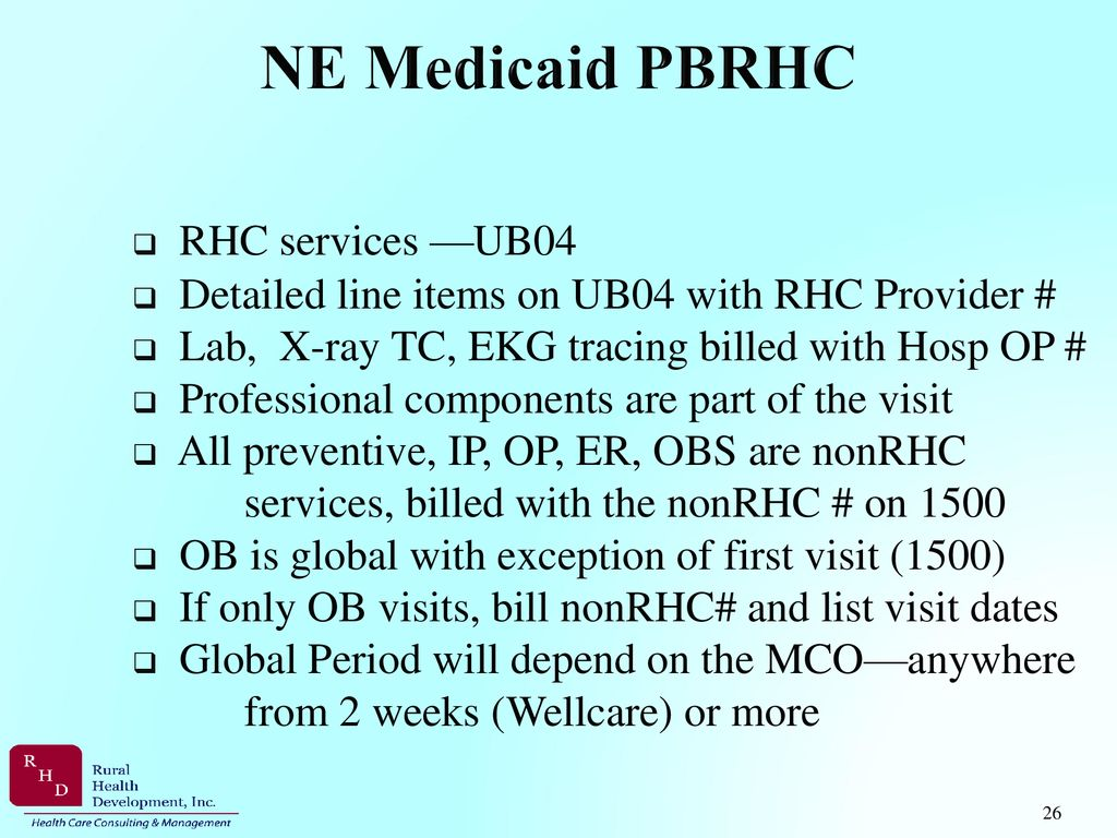 Rural Health Clinic Billing & Coding - ppt download
