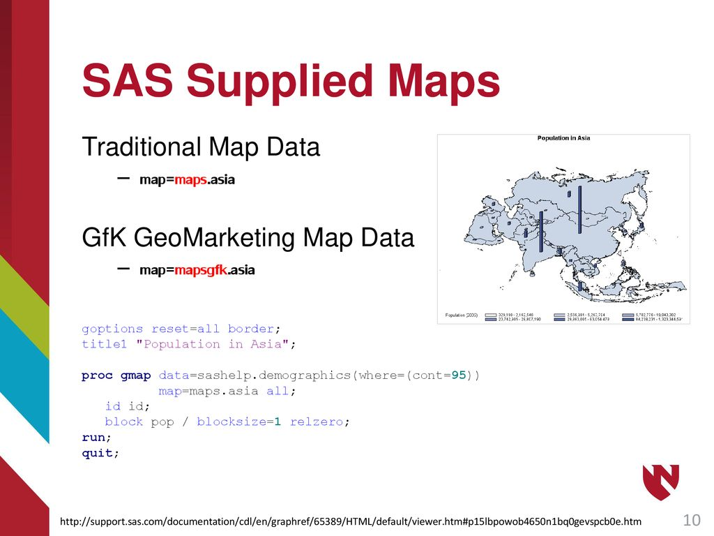 Introduction to Mapping in SAS - ppt download
