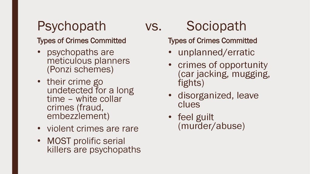 Is sociopath a of the what definition High