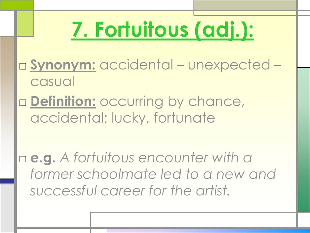 Vocabulary Lesson 5 Using Synonyms Ppt Download 22 synonyms for « lucky ». vocabulary lesson 5 using synonyms