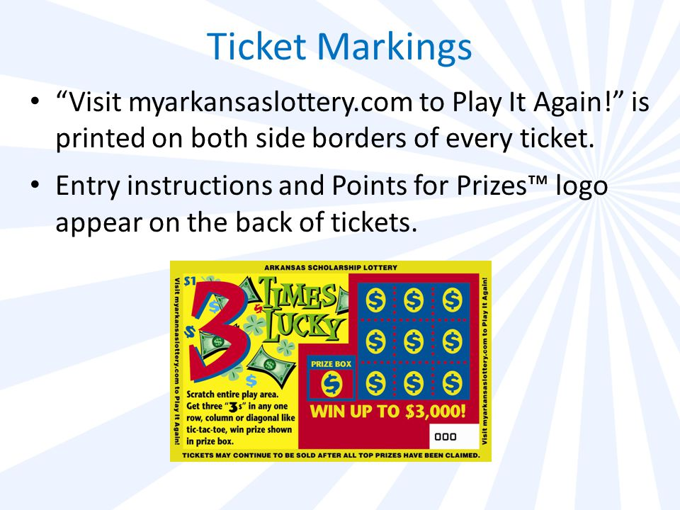 Get your FREE! - Arkansas lottery play it again prizes