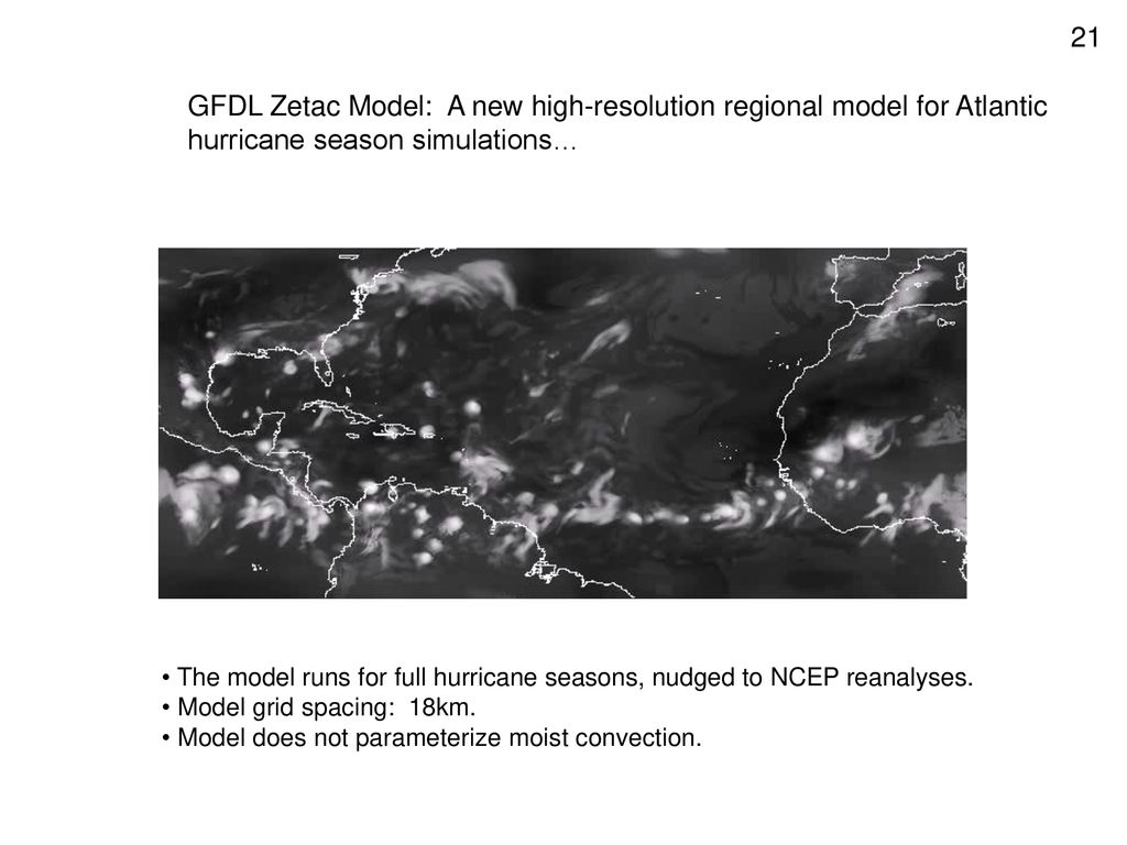 GFDL Zetac Model: A new high-resolution regional model for Atlantic