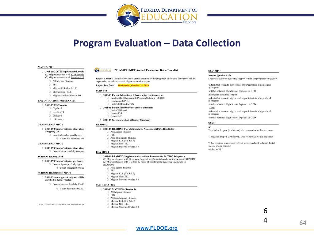 Florida Migrant Education Program Office - ppt download