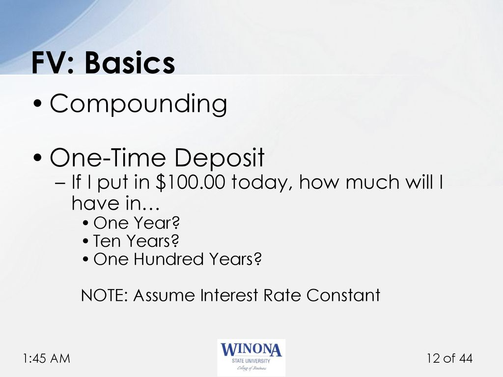 FIN 360: Corporate Finance - ppt download