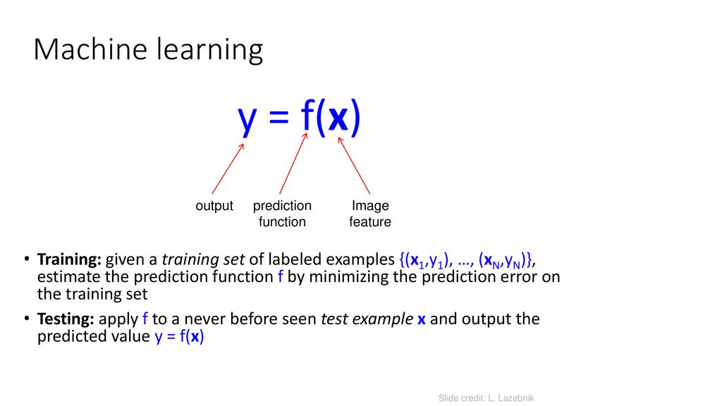 Overview of Machine Learning - ppt download