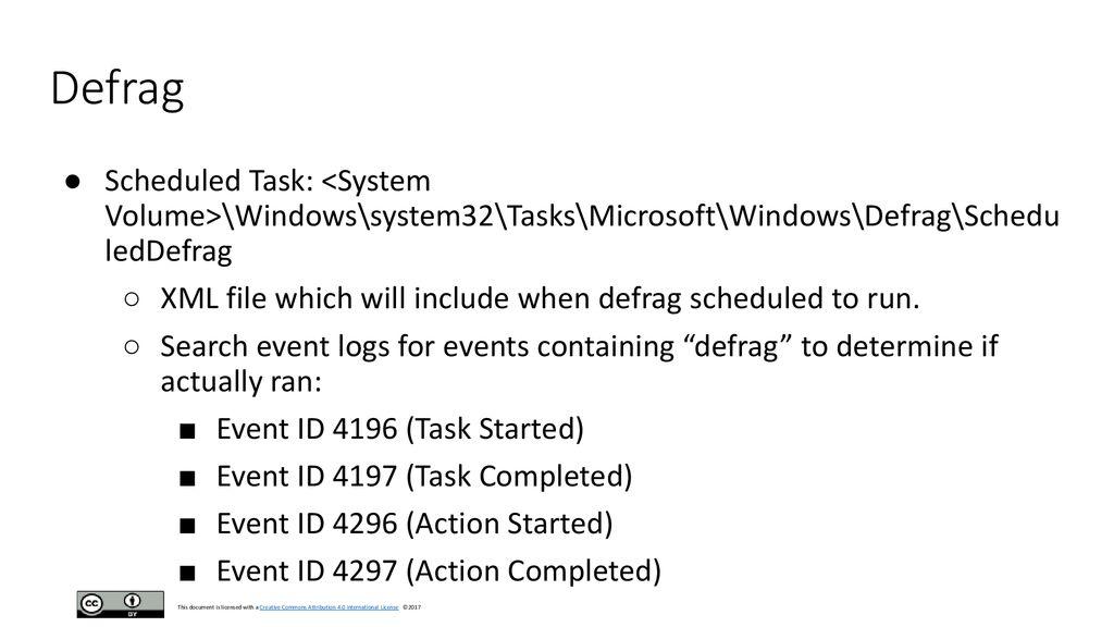 Windows Volume Id