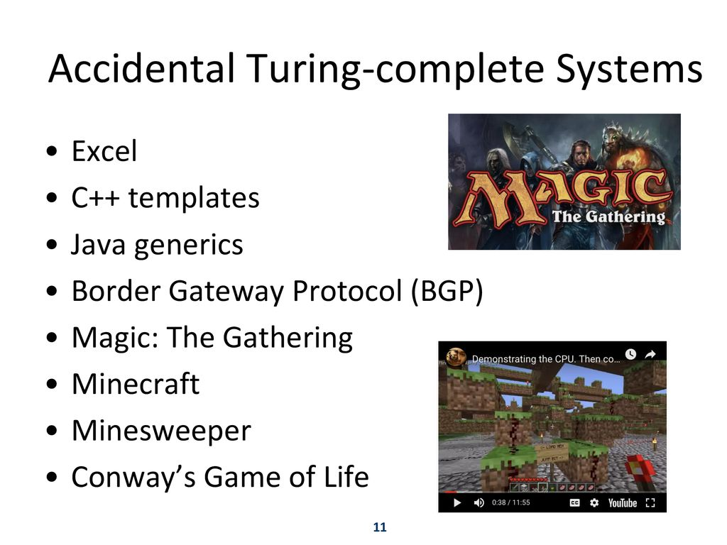 The Church-Turing Thesis and Turing-completeness - ppt download