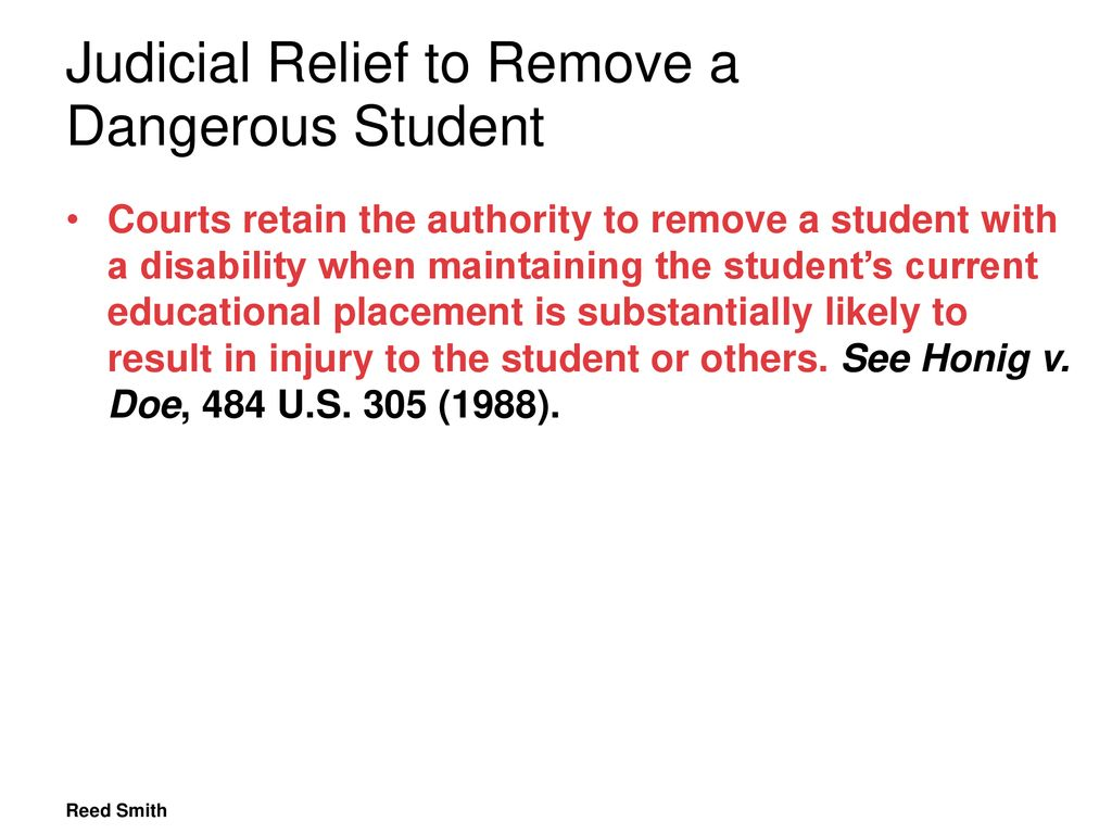 A Danger To Students With Disabilities >> School Safety Special Education Understanding When And How