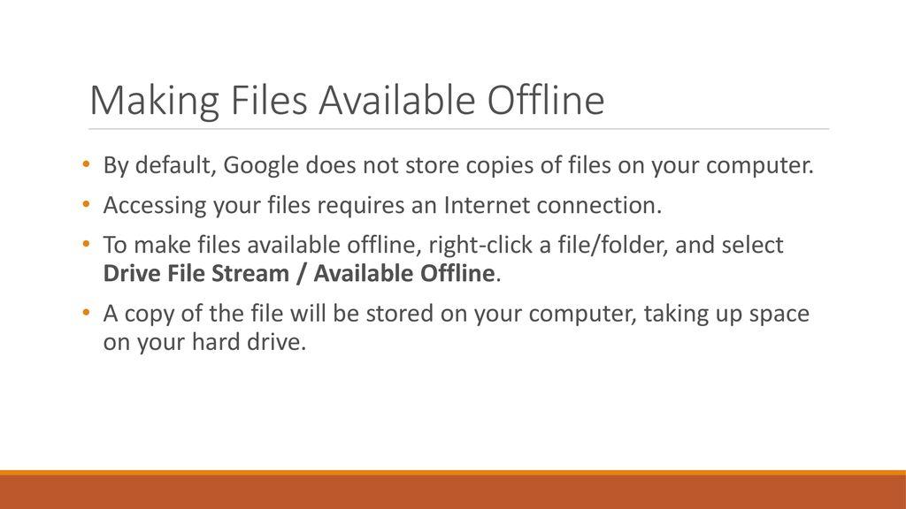 Google File Stream Google Drive Updates  - ppt download