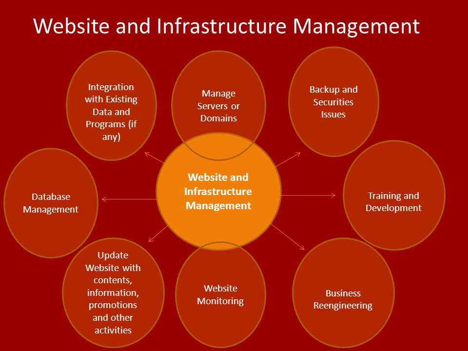 Website and Infrastructure Management