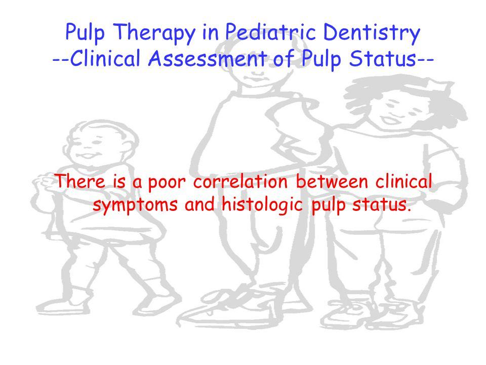 pulp therapy in pediatric dentistry pdf