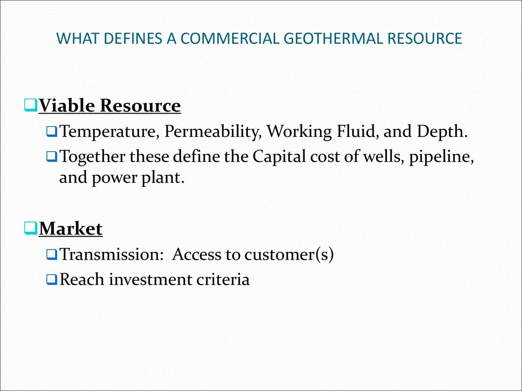 INTRODUCTION The word 'Geothermal' originates from the Greek